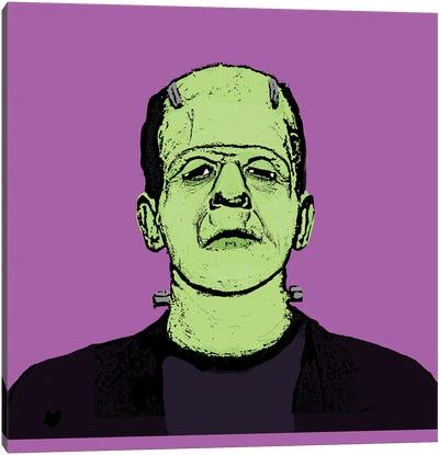 Frankenstein Monster Canvas Art Print