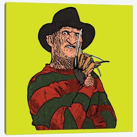 Freddy Canvas Print #AMY66} by Amy May Pop Art Canvas Artwork