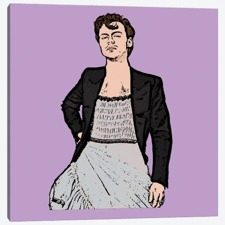 Harry Styles Canvas Print #AMY70} by Amy May Pop Art Canvas Art