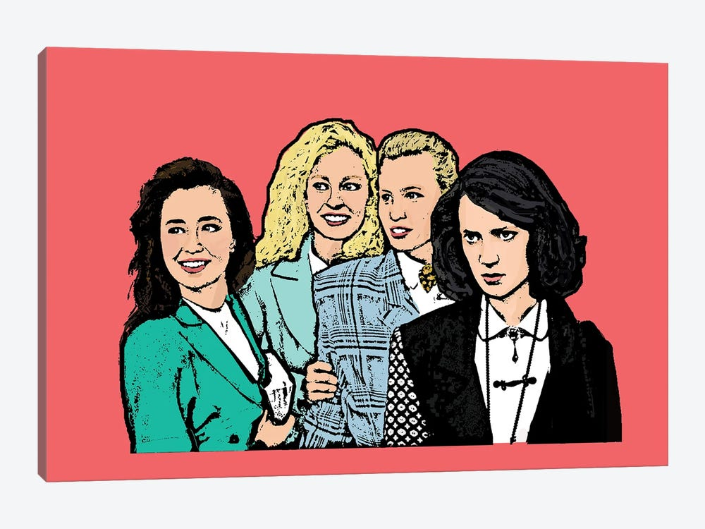 Heathers by Amy May Pop Art 1-piece Canvas Wall Art