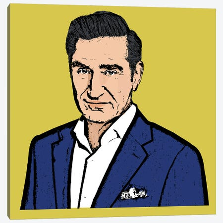 Johnny Rose Canvas Print #AMY73} by Amy May Pop Art Canvas Wall Art