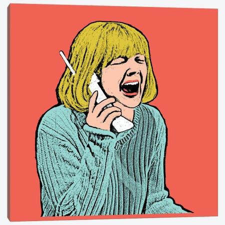 Scream Canvas Print #AMY89} by Amy May Pop Art Art Print