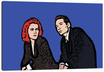 X Files Canvas Art Print