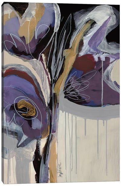 Floral Impressions II Canvas Art Print