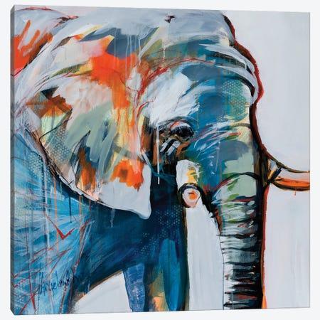 Mr. Silver Hair Canvas Print #AMZ11} by Angela Maritz Canvas Print
