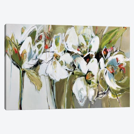 Spring Blooms Canvas Print #AMZ13} by Angela Maritz Canvas Art Print