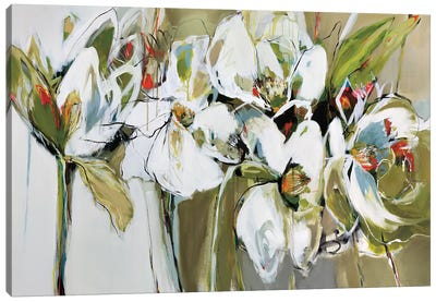 Spring Blooms Canvas Art Print