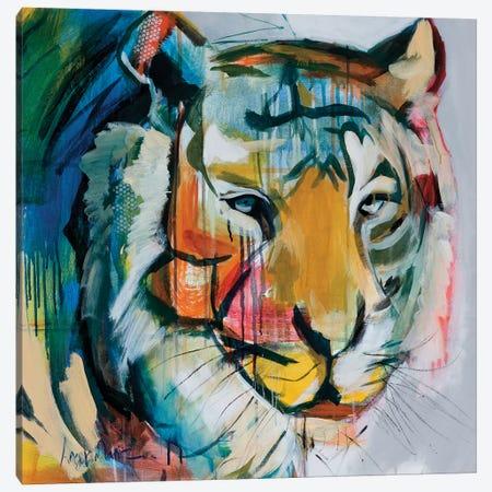 Tiger Tiger Canvas Print #AMZ14} by Angela Maritz Canvas Art