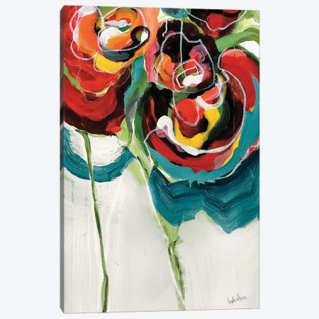 Wasabi Rose I Canvas Print #AMZ15} by Angela Maritz Canvas Art