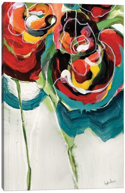 Wasabi Rose I Canvas Art Print