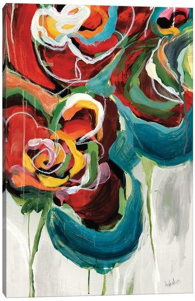 Wasabi Rose II Canvas Art Print