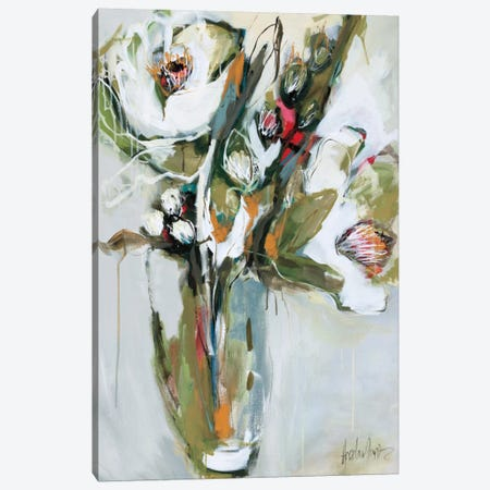 Blooming In November  Canvas Print #AMZ1} by Angela Maritz Canvas Art