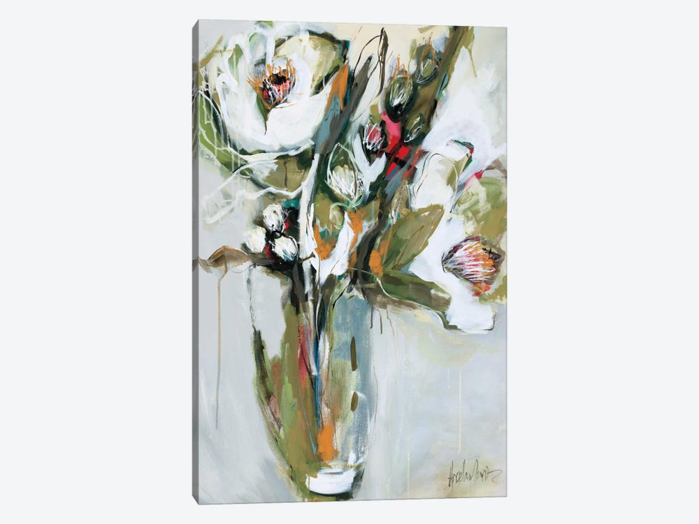 Blooming In November  by Angela Maritz 1-piece Canvas Print
