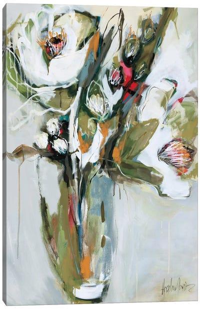 Blooming In November Canvas Art Print