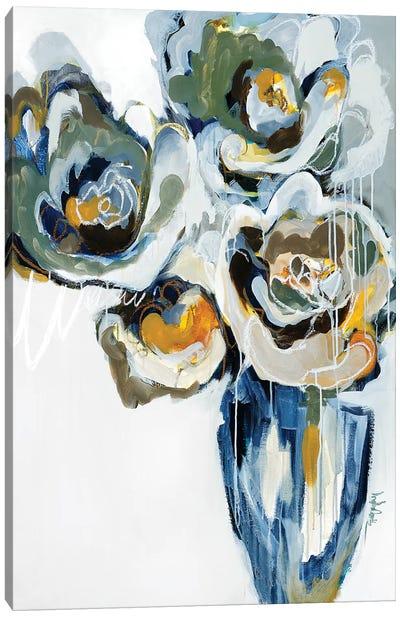 Blooms of Earl Gray Canvas Art Print