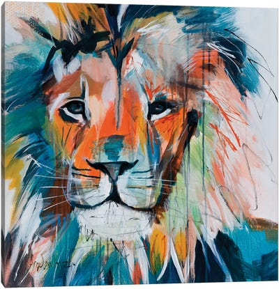 Do You Want My Lions Share Canvas Art Print