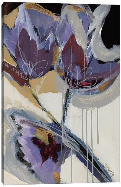 Floral Impressions I Canvas Art Print