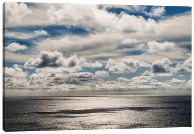 USA, California, La Jolla, Coastal clouds over the Pacific Canvas Art Print