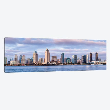 USA, California, San Diego, Panoramic view of city skyline Canvas Print #ANC9} by Ann Collins Canvas Art Print