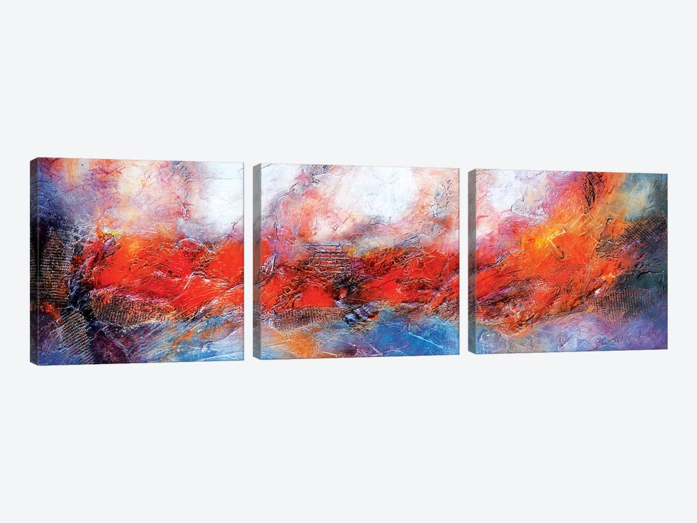 Guiding Light by Andrada Anghel 3-piece Canvas Artwork