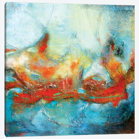 Magical Wave Canvas Print #AND14} by Andrada Anghel Canvas Art