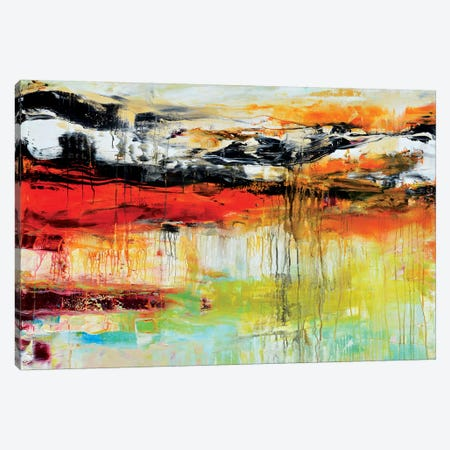 My Teeming With Life Universe Canvas Print #AND15} by Andrada Anghel Canvas Wall Art