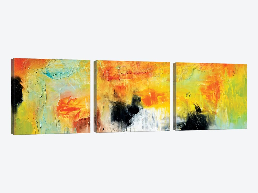 Blind Date I by Andrada Anghel 3-piece Canvas Print