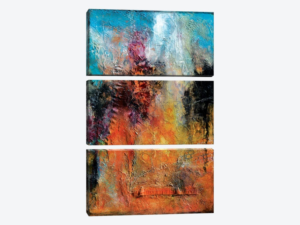 Treasure Hunting by Andrada Anghel 3-piece Canvas Wall Art