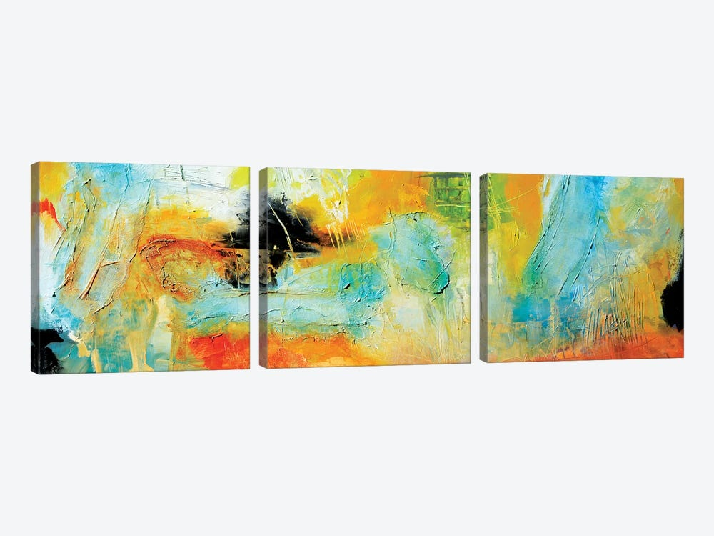Blind Date II by Andrada Anghel 3-piece Canvas Art
