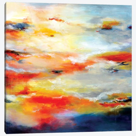 Sunset Canvas Print #AND30} by Andrada Anghel Canvas Art Print