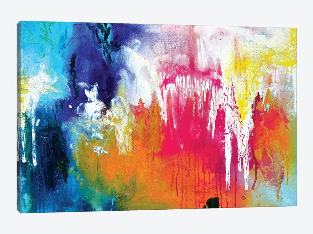 Abstract XIII by Andrada Anghel 1-piece Canvas Art