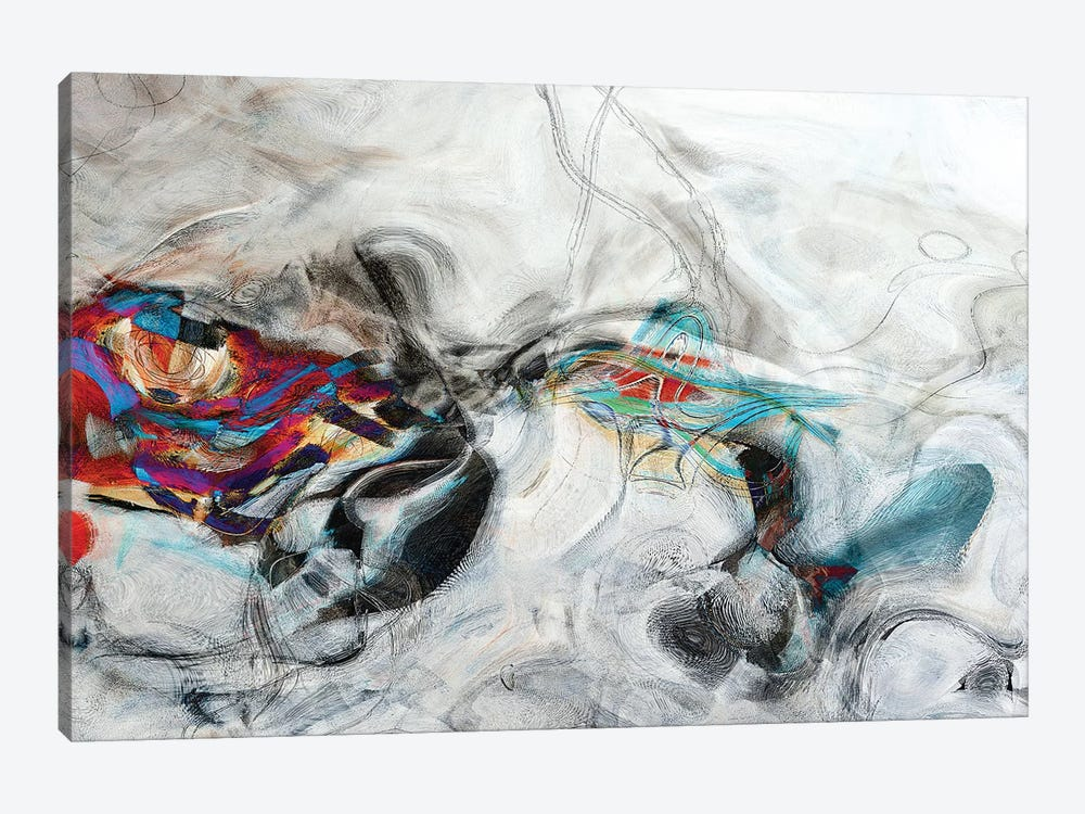 Abstract XVIII by Andrada Anghel 1-piece Canvas Art Print