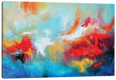 Abstract XXI Canvas Art Print
