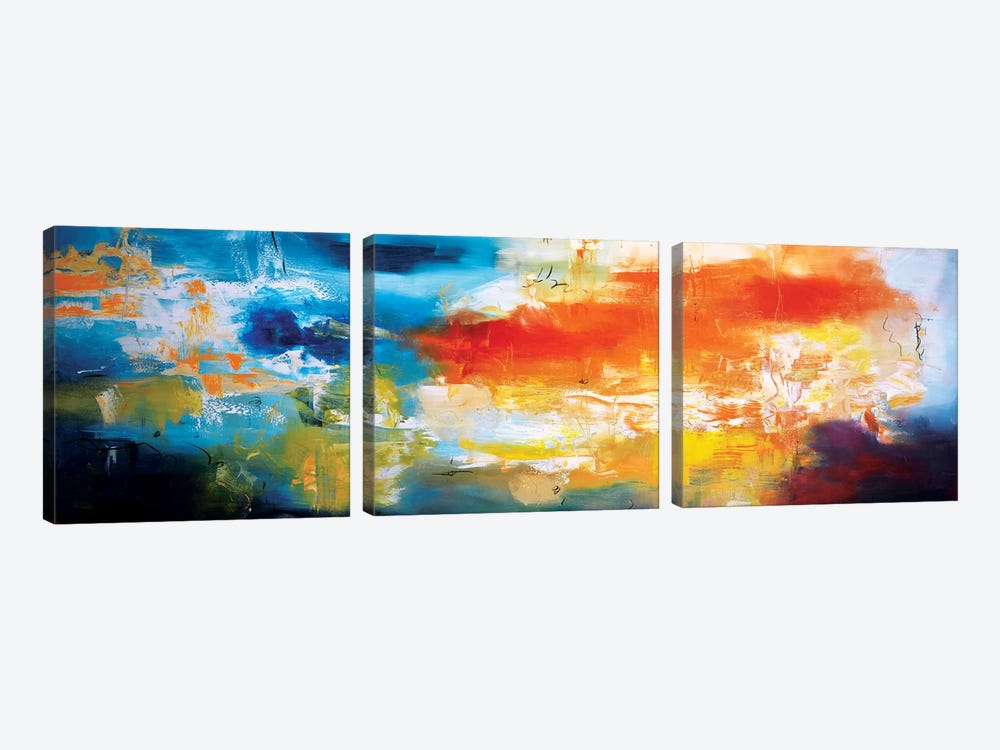 Duality by Andrada Anghel 3-piece Art Print