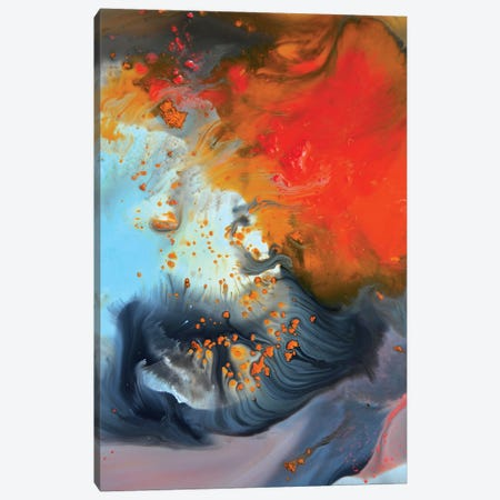 Liquid Series IV Canvas Print #AND60} by Andrada Anghel Canvas Artwork