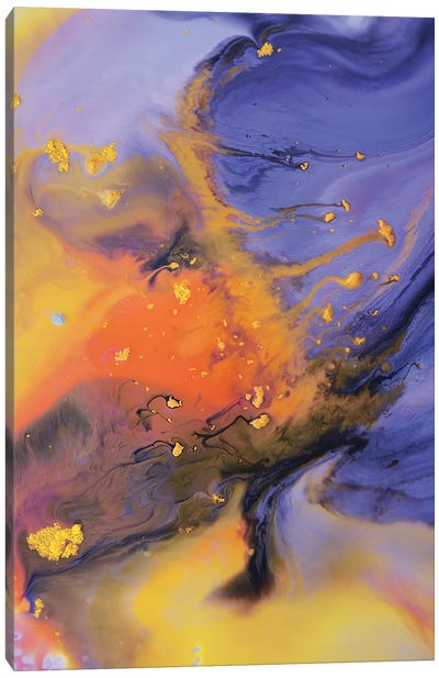 Liquid Series VIII Canvas Art Print