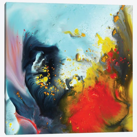 Liquid Series XIV Canvas Print #AND70} by Andrada Anghel Canvas Art Print