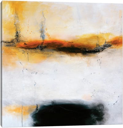Black Sea Canvas Art Print