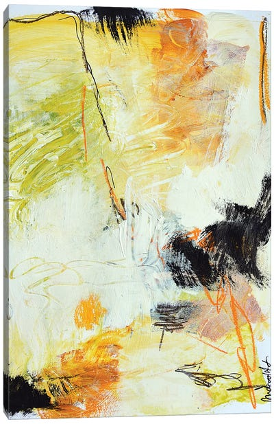 Study On Paper XIV Canvas Art Print
