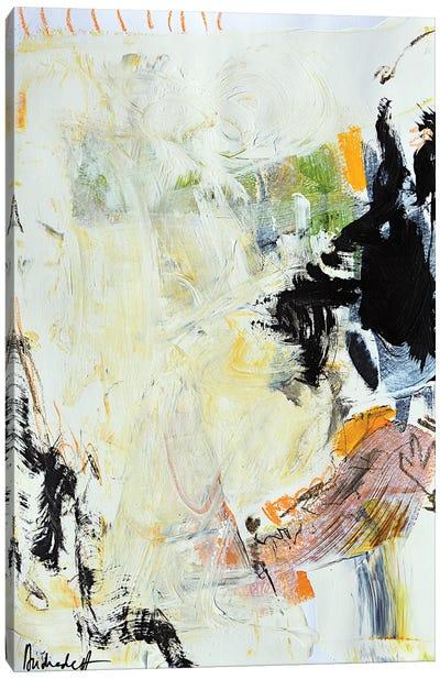 Study On Paper XI Canvas Art Print