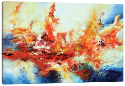 Basse-Terre Sunset Canvas Art Print