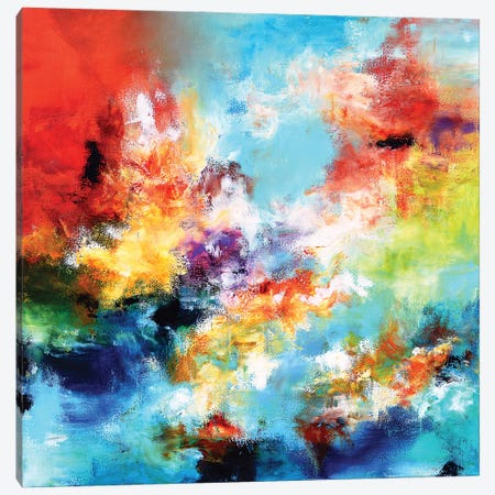 Reflection Canvas Print #AND88} by Andrada Anghel Canvas Wall Art