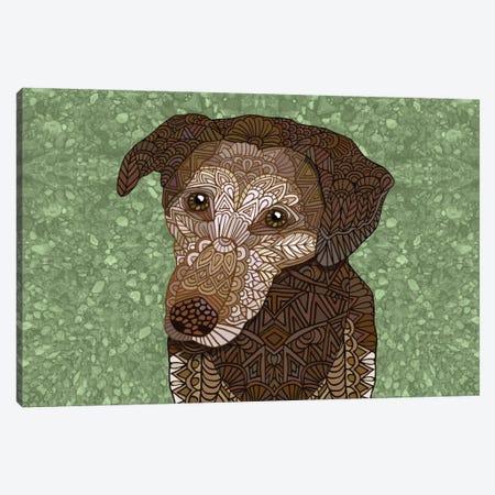 Venice Dog Canvas Print #ANG100} by Angelika Parker Art Print
