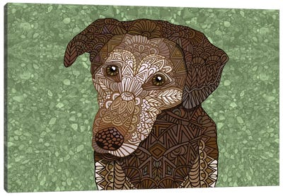 Venice Dog Canvas Print #ANG100