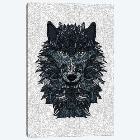 Wolf Canvas Print #ANG105} by Angelika Parker Canvas Art