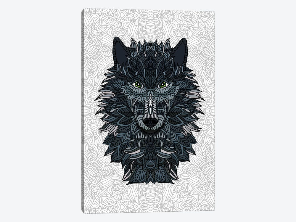 Wolf by Angelika Parker 1-piece Canvas Art Print