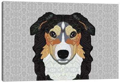 Zecke - Mountain Dog Canvas Art Print
