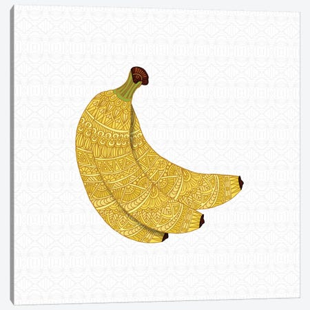Bananas Canvas Print #ANG109} by Angelika Parker Art Print