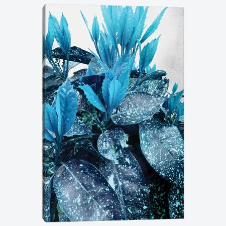 Blue Mood 3-Piece Canvas #ANG118} by Angelika Parker Canvas Wall Art