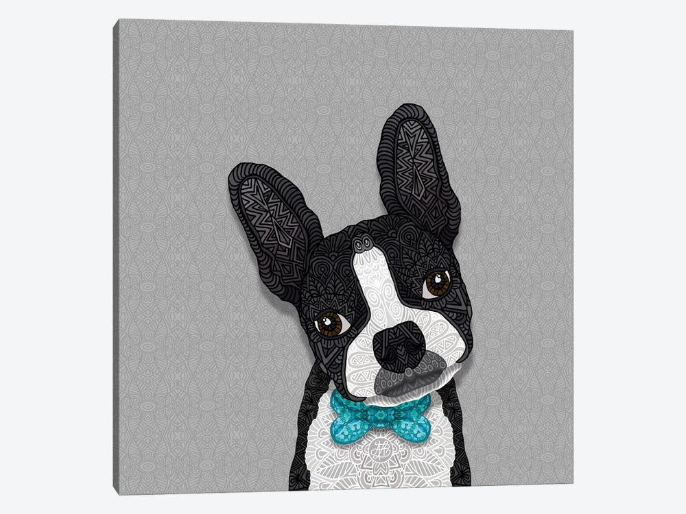 Bow Tie Boston by Angelika Parker 1-piece Art Print